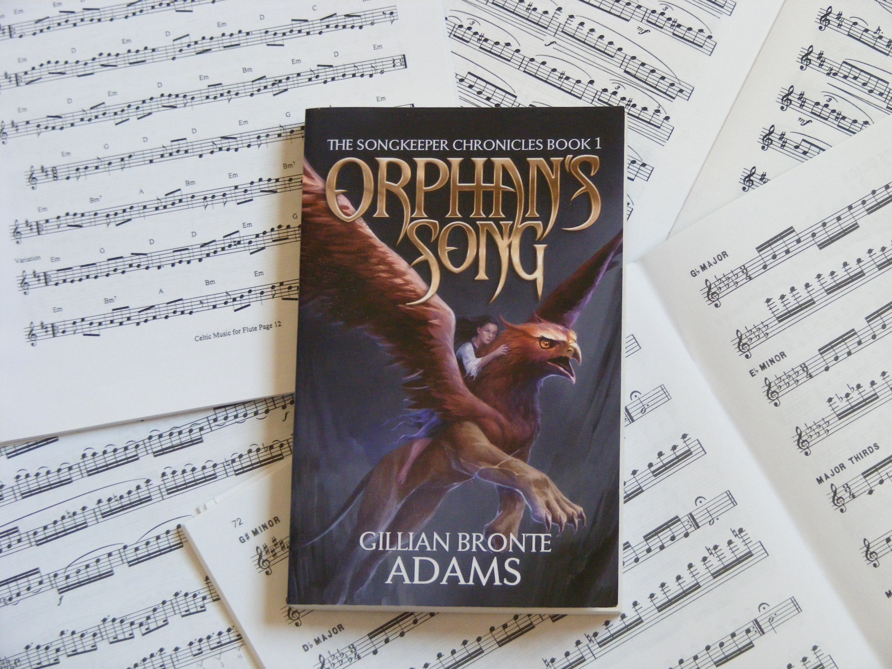Orphan's Song is a Christian Fantasy by Gillian Bronte Adams.
