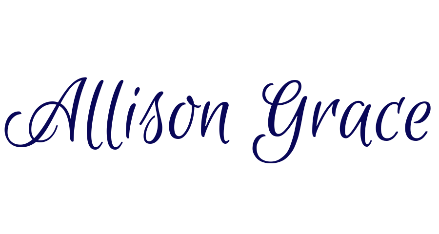 Allison Grace blogs at allisongracewrites.com