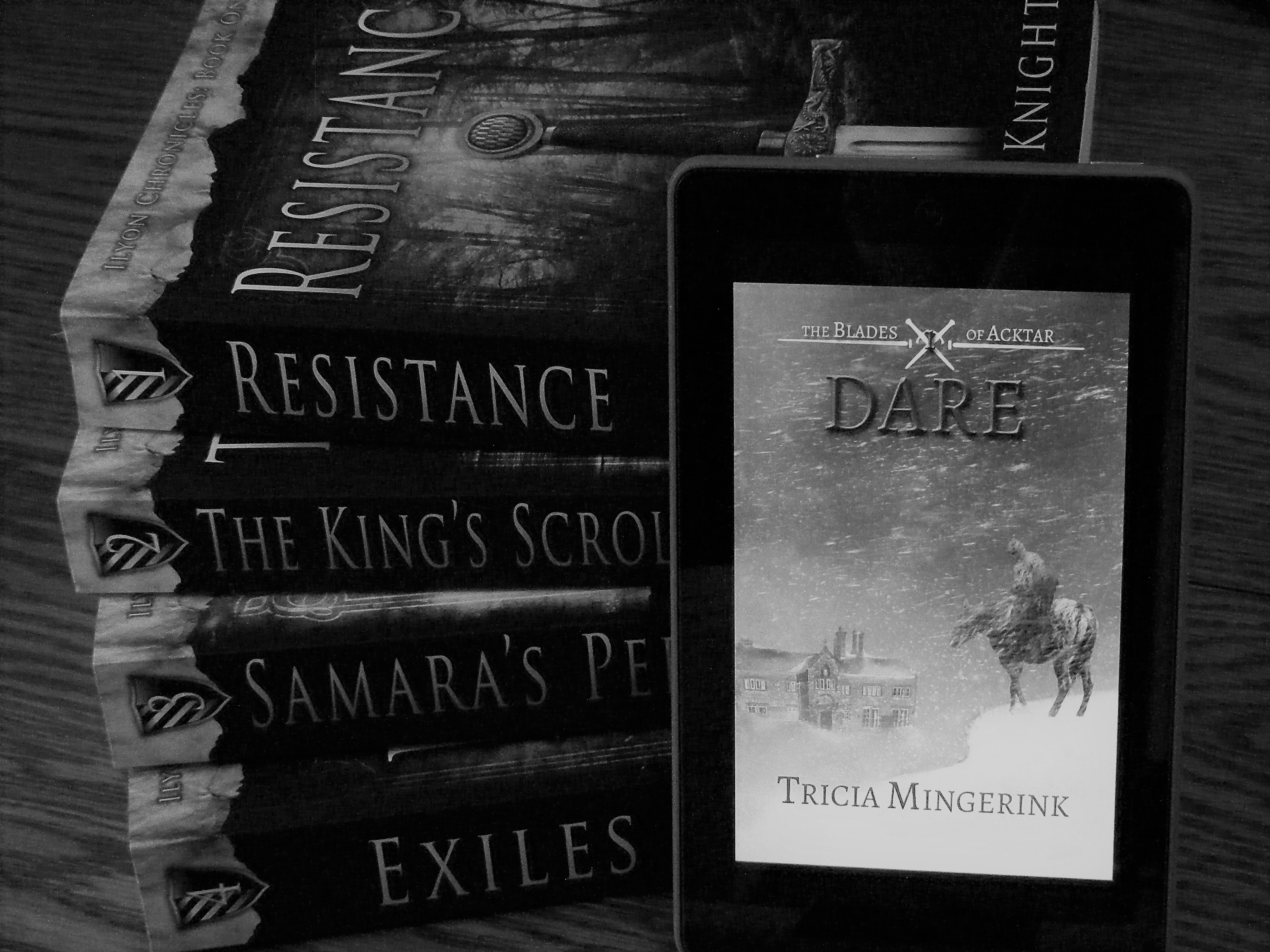 Dare by Tricia Mingerink is a Christian fantasy novel.