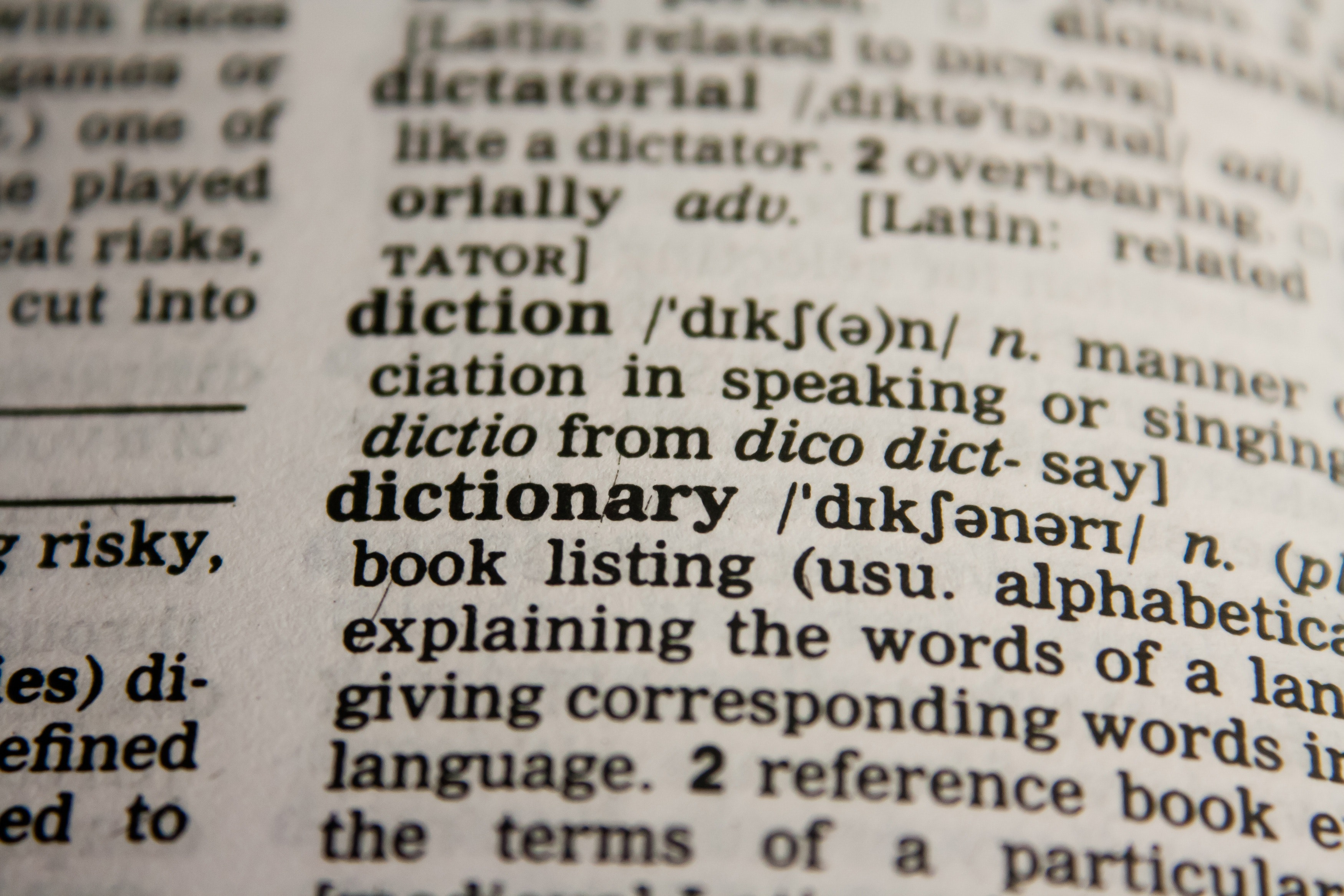 Writer's Jargon: A Basic Dictionary