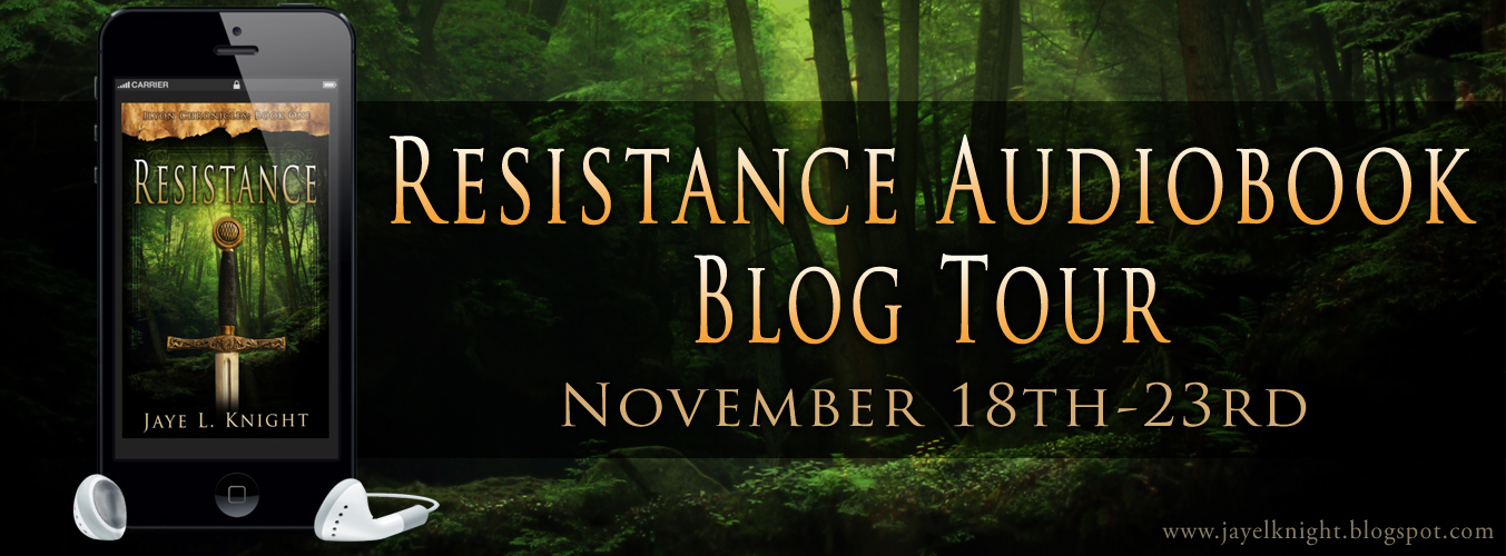 Resistance audiobook blog tour and author interview