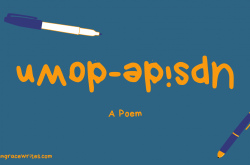 upside-down a poem allison grace